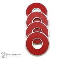 Red VVashers™ - Set of 4